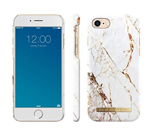 IDEAL OF SWEDEN Handyhülle für iPhone 8/7 / 6 / 6s (Carrara Gold)