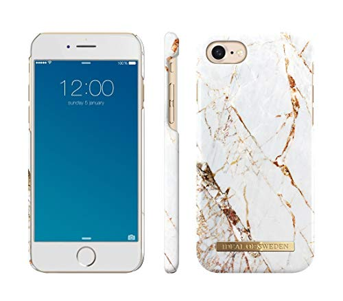 iDeal Of Sweden Carrara Gold Handyhülle für iPhone 8/7 / 6 / 6s