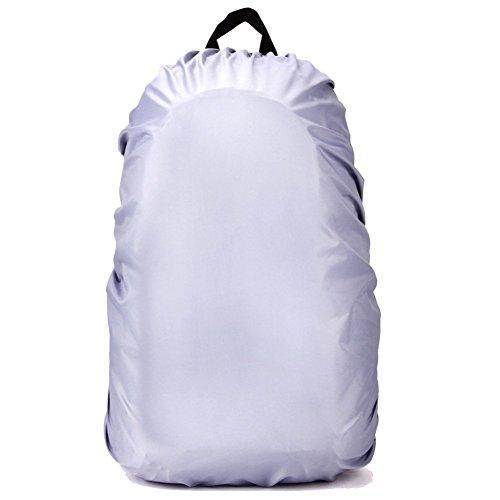 Fletion 60L Portable Packable Imperméable Rain Cover Pack Pochette Nylon Backpack imperméable couverture antidérapante pour les activités de plein air Randonnée Camping Voyage Cyclisme Escalade