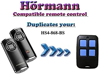 Hörmann HS4-868-BS Compatible remote control, BiSecur Clone Duplicator, 868,3Mhz 4-Channel Transmitter, Top Quality Hormann Replacement for The Best Price!!!