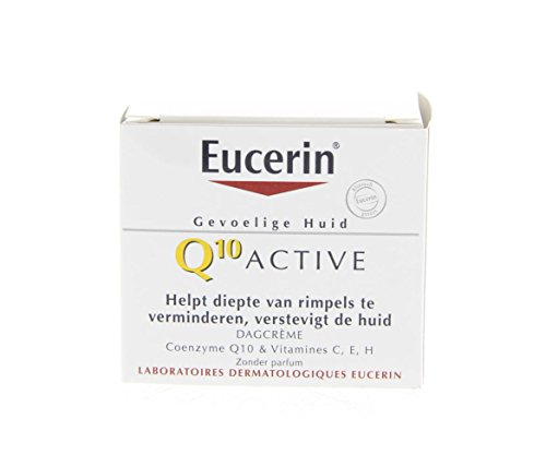 Eucerin Q10 Active Anti-Wrinkle Day Cream - Dry Skin 50ml