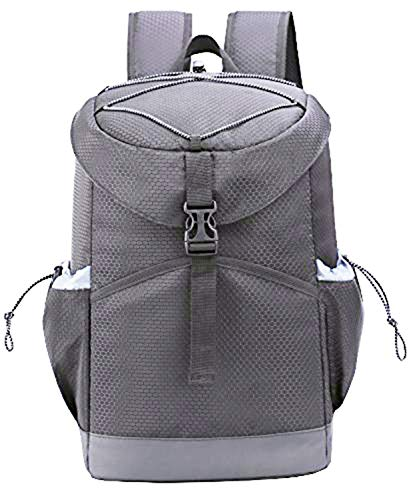 MIER 20 Can Insulated Cooler Backpack Bag Leakproof Stylish Lunch Cooler for Men, Women