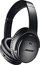 Auriculares inalámbricos Bose QuietComfort 35 (II), cancelación de ruido, control de voz Alexa, color negro