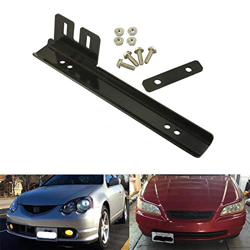 Universal Licence Registration Number Plate Relocation Bracket JDM Civic MX5 EP