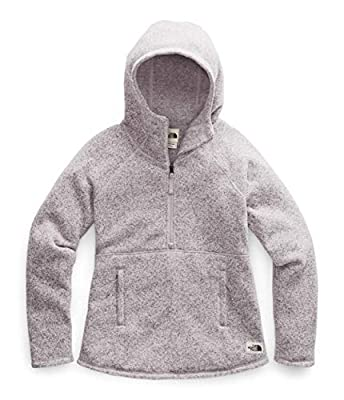 The North Face Women's Crescent Hooded Pullover, Ashen Purple Heather, M