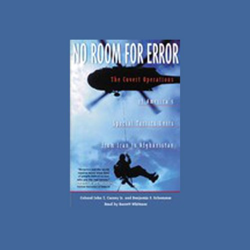 No Room for Error audiobook cover art