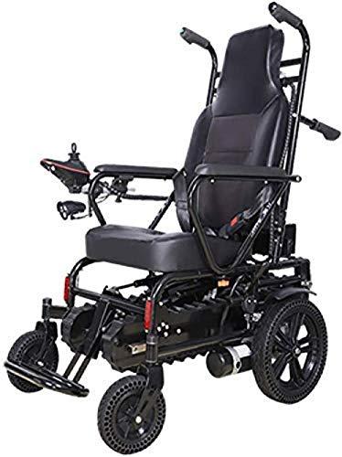HuAma Elektrische Rollstühle Elektrorollstuhl - Kletterrollstuhl Auf Und Ab Treppensteigen Klappbarer Leichtkriecher Tragbarer Transport Für Ältere Menschen Behinderte