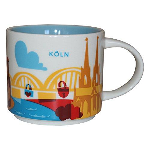 Starbucks Usted está aquí Colección Taza de café de la taza de café de Colonia