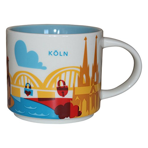 Starbucks City Mug You Are Here Collection Köln Kaffeetasse Coffee Cup