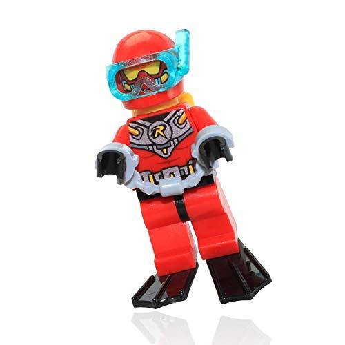 Lego Minifigura de Buceo Robin Suelta