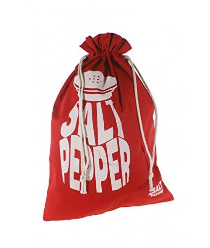 Cal Fuster – Sac pour le pour en tissu Motif couleur rouge. Dimensions : 57 x 37 cm
