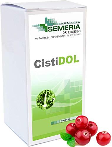 Cistidol 30 capsule per vie urinarie con Uva ursina, Gramigna, Pilosella, Semi di Pompelmo