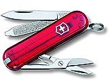 Victorinox - Coltellino tascabile Classic SD, colore Rosso, 58 mm...