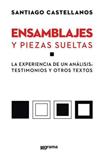 Ensamblajes y piezas sueltas: La experiencia de un análisis: testimonios y otros textos