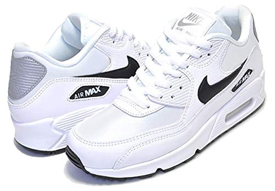 持参記念碑妥協[ナイキ] ウィメンズ エアマックス 90 WMNS AIR MAX 90 white/black-reflect silver レディース スニーカー ガールズ ホワイト [並行輸入品]