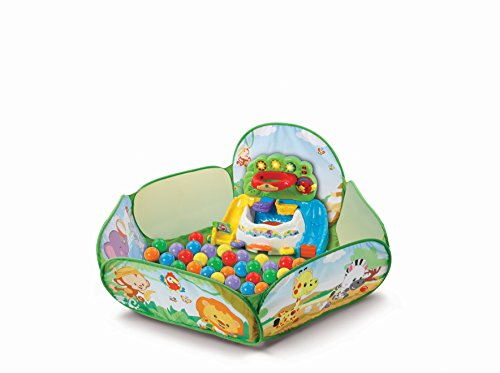 VTech Baby 80-506204 - Buntes Bällebad, Kleinkindspielzeug