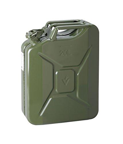 IWH 073855 – Bidon à Essence en tôle d'acier, 20 L, Vert