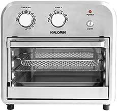 Kalorik AFO 46894 BKSS 12 Quart Air Fryer Oven, Black/Stainless Steel