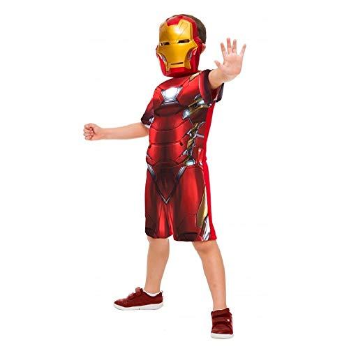 Fantasia Homem de Ferro/Iron Man Curta Infantil Guerra Civil P 2-4