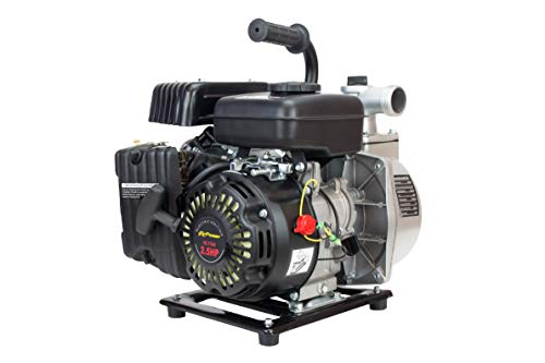 ITCPower IT-GP40 Motobomba de Gasolina, 1865 W, Gris/Negro