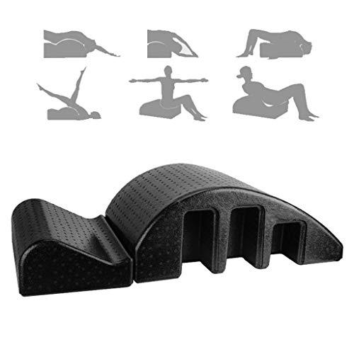 Spine Supporter Pilates Masaje Cama, Ortesis De Columna Vertebral Deformidad De La Columna Cervical Corrección Yoga Espuma Kyphosis Corrección Equipo De La Aptitud Pilates Arco