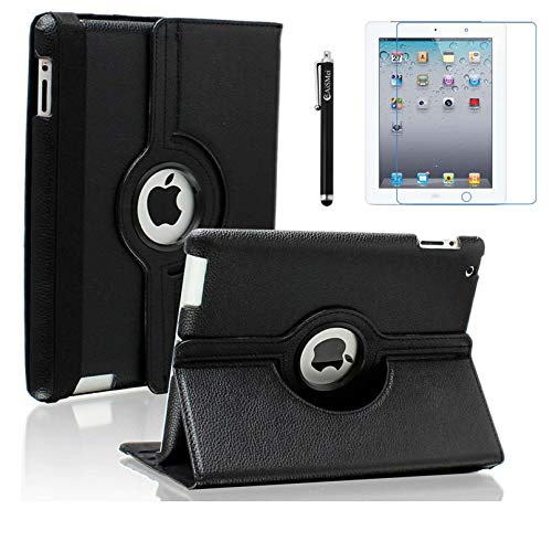 AiSMei Case for iPad 4 (2012), Rota…