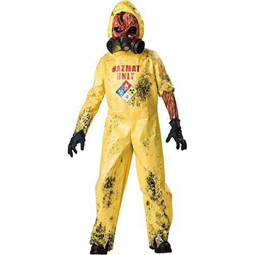 Hazmat Hazard Kids Costume - Large