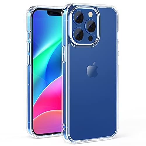 NIMASO ケース iPhone 13 Pro 用 カバー iPhone13 Pro 対応 ケース 強化ガラス 半透明 TPU カバー 背面 マットタイプ 6.1インチ用 NSC21H311