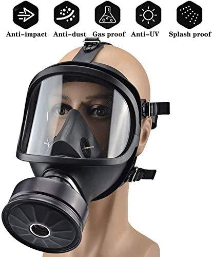 Masque à gaz de grande taille et accessoires largement utilisés pour les urgences du feu, la récupération du pétrole, l'exploitation minière et la métallurgie, la soudure ou comme respirateur.