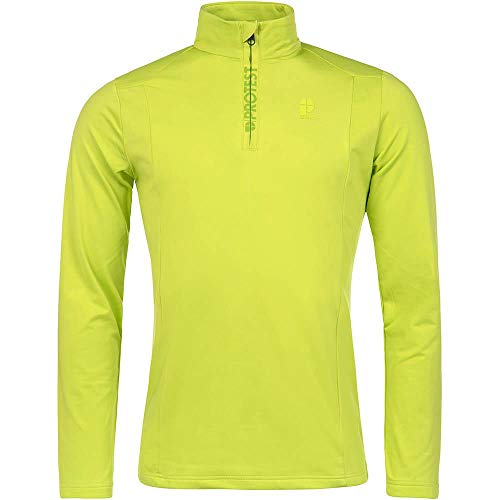 PROTEST WILLOWY 1/4 ZIP Fleece 2019 lime green, S