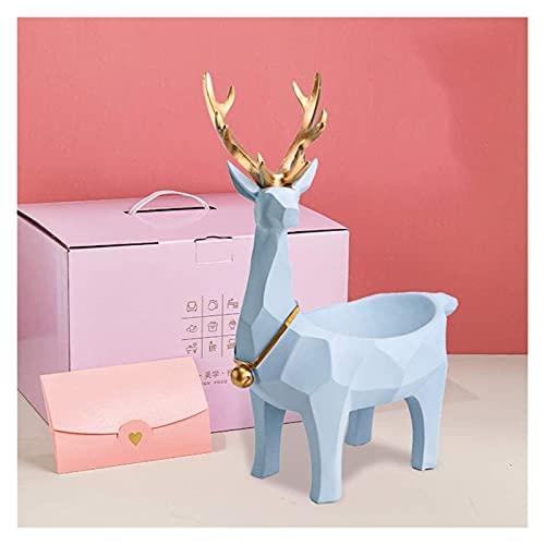 Almacenamiento Animal Ornamento Resina Inicio Oficina Decoración Bodas Sala De Estar Vino Gabinete TV Cabinete Escritorio Estudio Pórchido MUMUJIN (Color : C)