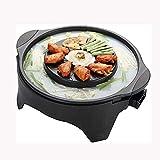 ROM Parrilla eléctrica Olla multifunción 2 en 1 Caliente Un asado Lavable Todo el Cuerpo Hot Multi-Cooke Teppanyaki