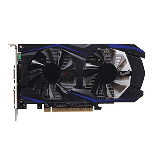 Fly-Dream GTX1050Ti 4G Mining Grafikkarte mit Lüfter Smart Temperatursteuerung GDDR5 HD 128 Bit für Desktop PC Game Entertainment