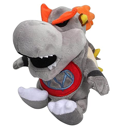 Jinwe Bowser Plush Toy, Mario Stuffed Animals,7' Super Mario Bowser King Series Plush (B)