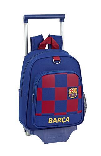 SAFTA Zaino per bambini FC Barcelona 1a squadra 19/20 Ufficiale con carrello 705