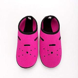 CUSHY Neoprene Diving Socks Gloves Wholesale Non-Slip Snorkeling Swimming Beach Socks for Adult Children Water Sports Shoes Yoga Shoes: Rose Red, XXL