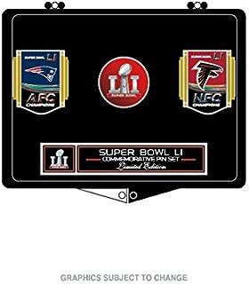 Wincraft Super Bowl LI (51) Patriots vs. Falcons Dueling Pin Set 2e1cc2585