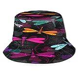 Unisex secchio cappello da sole dinosauro divertente tesa larga all'aperto protezione solare spiaggia pescatori cappelli per uomini donne giovani, Uomo, Colore 5, Taglia unica