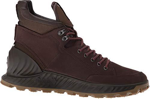 Ecco Outdoor Men's Exostrike Hydromax Hiking Shoe, Mocha Yak Nubuck, 45 M EU (11-11.5 US)
