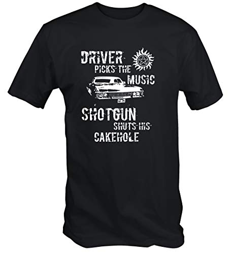 6 Tee Niners Winchester Driver T Shirt (Small) Black