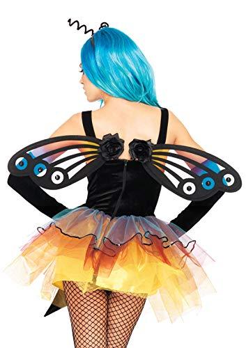 Leg Avenue Ailes De Papillon Noir