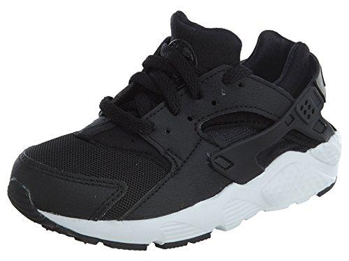 Nike Huarache Run (PS) 704949-011, Neu, Kinder Sneaker (EUR 28.5, Schwarz/weiß)