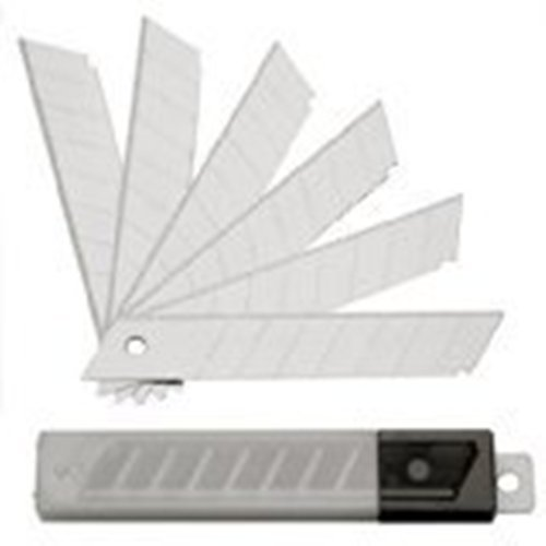 SBS Abbrechklingen | 200 Stück | 18mm breit | 0,5mm stark | Cutterklingen