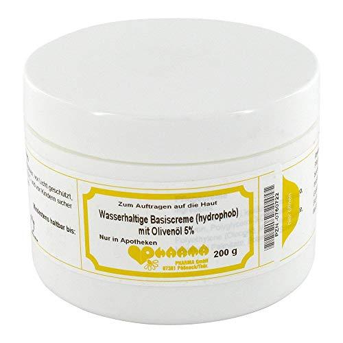 WASSERHALTIGE Basiscreme hydrophob m.5% Olivenöl 200 g