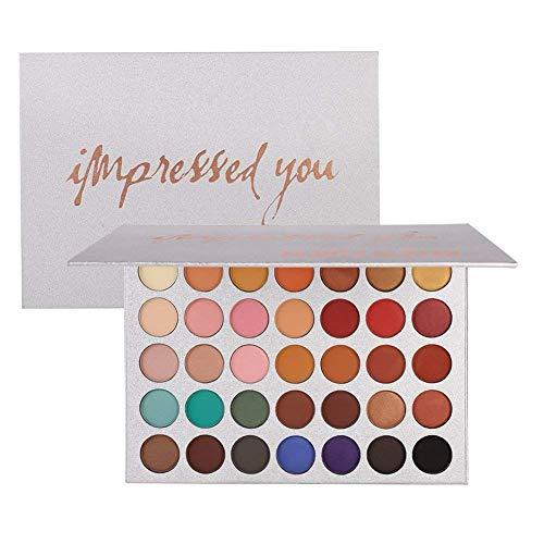 BEAUTY GLAZED 35 Farben Kosmetische Matte Lidschatten Creme Make-up Palette Warm Eyeshadows Palette
