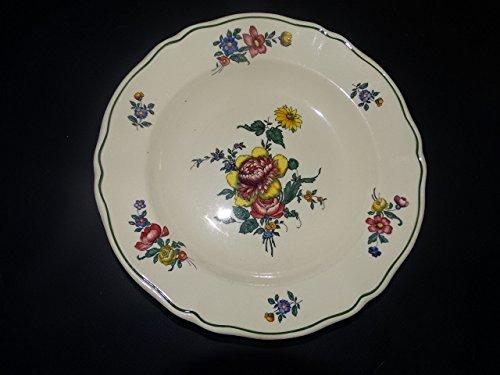 Villeroy & Boch Alt Strassburg Soup / Deep Plate Straw Flower