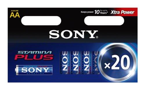 Sony 20 Piles Alcalines LR6/AA
