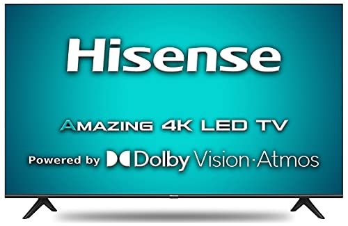 Hisense 139 cm (55 inches) 4K Ultra HD Smart Certified Android LED TV 55A71F (Black) (2020 Model)   With Dolby Vision and ATMOS
