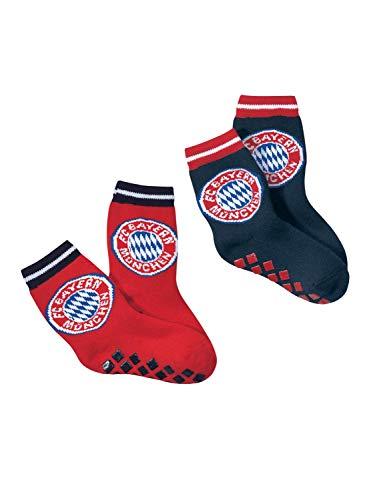 FC Bayern München ABS-Socken Kinder 2er-Set 31-34
