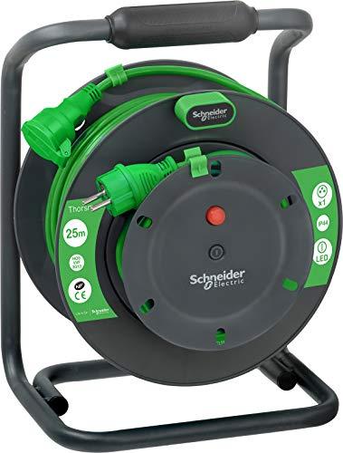 Schneider Electric SC5IMT33154 verlengkabel, 25 m, HO5VVF 3G1,5, IP44, groen